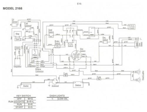 2166 cub cadet wiring diagram