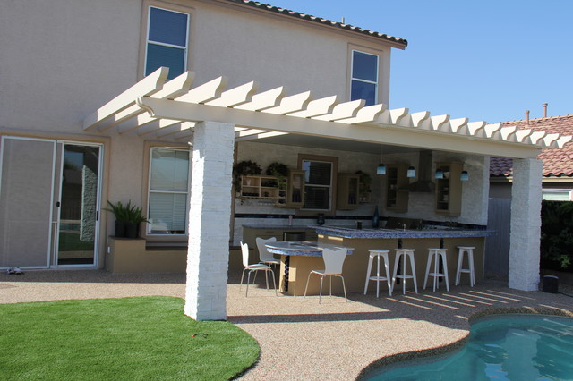Kitchen Crashers - Eclectic - Patio - Las Vegas - By Green Planet
