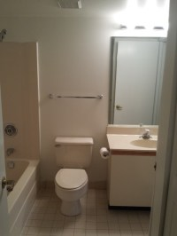 Pls help rescue this almond bathroom from the 80's!