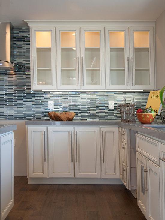 eat kitchen design photos white cabinets glass tile contemporary shaker kitchen transitional kitchen manchester uk