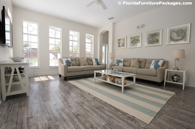 Sea Pearl - Contemporary - Living Room - Orlando - by Florida - living room furniture packages