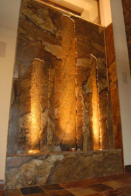 Stone Wall Indoor Waterfall