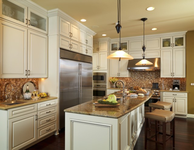 Chef39s Kitchen Traditional Kitchen Las Vegas By