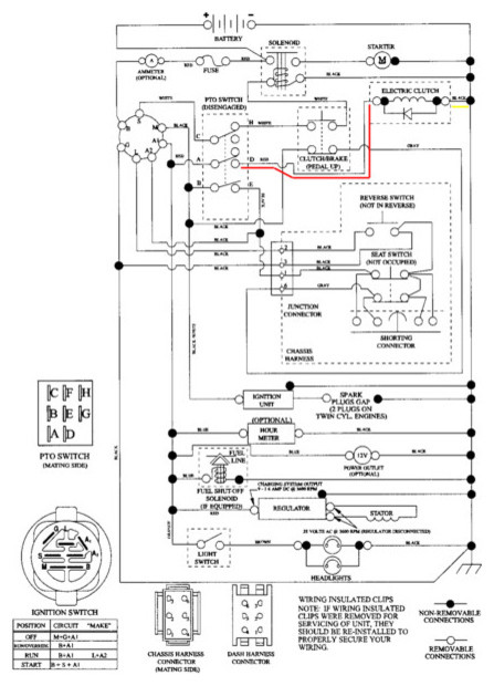 Circuit Electric For Guide: 2007 Cub Cadet Lt1050 Wiring