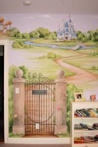 Princess Castle Mural - Traditional - Bedroom - Boston ...