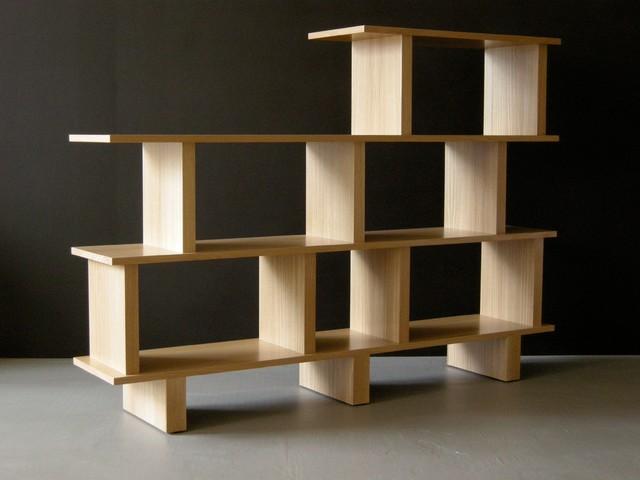 Bookcase Room Divider Oak Modern Bookcases San