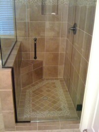 Shower Floor Tile Designs | Tile Design Ideas