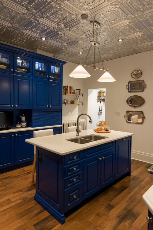 Ready Kitchen Cabinets Chicago 11 Tardis-blue Home Decor Ideas For Hardcore Who Fans