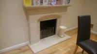changing fireplace surround