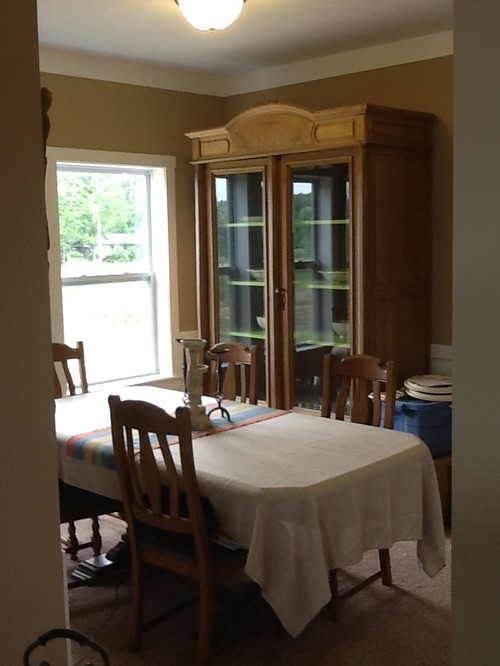 Off Center Dining Room Light Fixture Table Off-center From Window