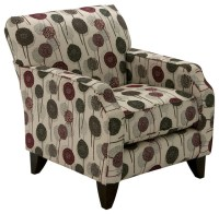 Empire Accent Chair, patterned - Modern - Armchairs And ...