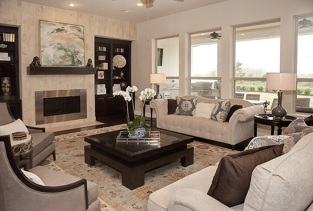 Living Room by Yi-Yun Lin, Interior Designer at Star Furniture in - living room furniture houston
