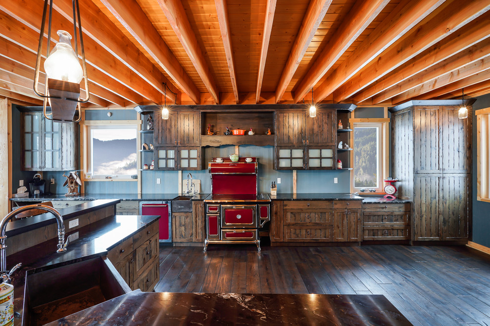 Traditional Rustic Kitchen Vancouver By Paradise