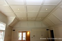 Coffered Ceilings and Beams - Traditional - Bedroom - by ...
