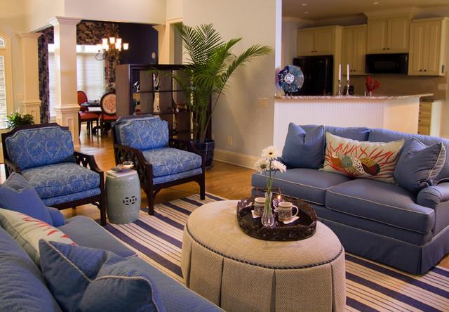 Coastal Living Room - coastal living room furniture