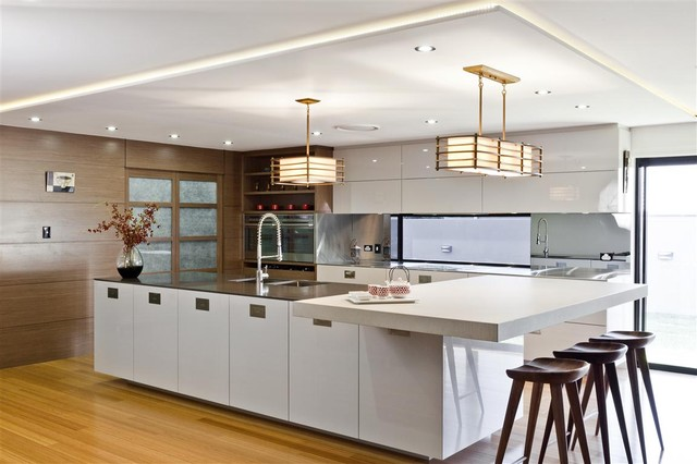 Japanese Contemporary Kitchen Design - Best of Easts Meets West - contemporary kitchen design