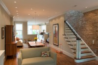 F Street Row House | Interior Renovations - Transitional ...