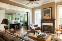 American Foursquare Revived - Traditional - Living Room ...