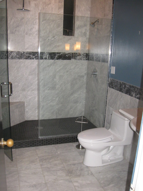 I need some ideas for a bathroom accent/border tile