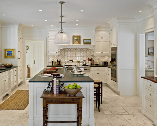 travertine flooring white cabinets home design ideas pictures contemporary shaker kitchen transitional kitchen manchester uk