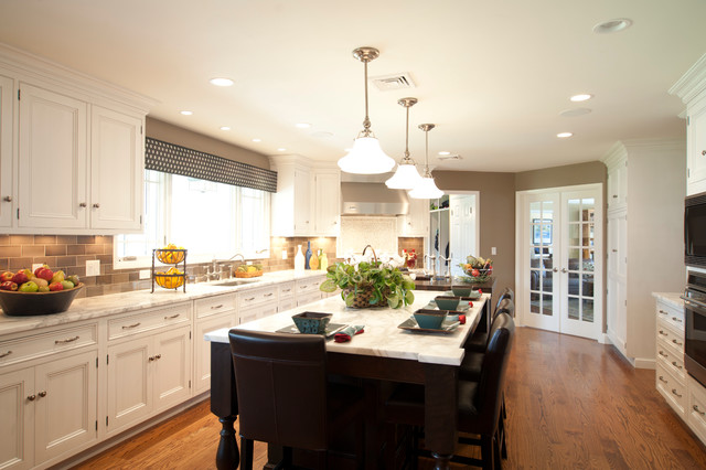 Scarsdale Transitional Kitchen Design and Project - Transitional - transitional kitchen design
