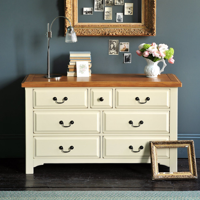 Westbury Painted Drawer Chest - Country - Living Room - Other - by - living room chest