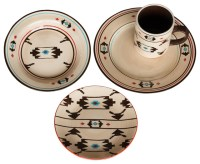 Artesia Native Dinnerware Set - Southwestern - Dinnerware ...