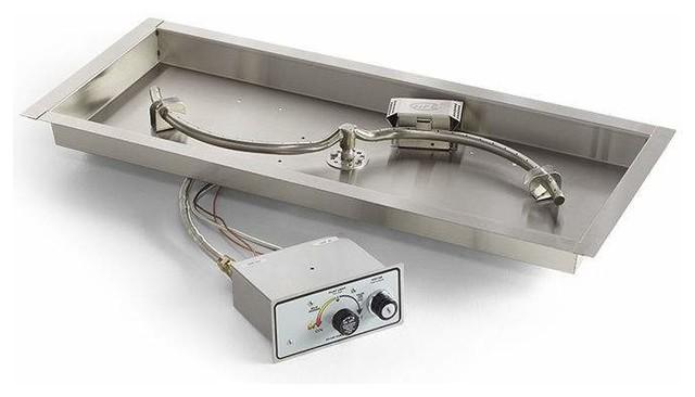 Flame Sensing Spark Ignition Fire Pit Burner Kit 42quotx14
