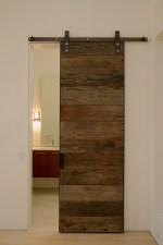 Reclaimed Wood Sliding Door