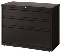 Hirsh 3-Drawer Lateral File Cabinet in Black - Filing ...