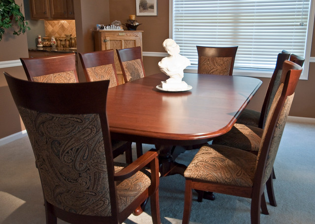 Queen Anne Double Pedestal table - Classique - Salle à Manger