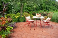 French Country Landscape - Traditional - Patio - Chicago ...