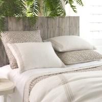 Pine Cone Hill Varana Linen Neutral Duvet Cover - Modern ...