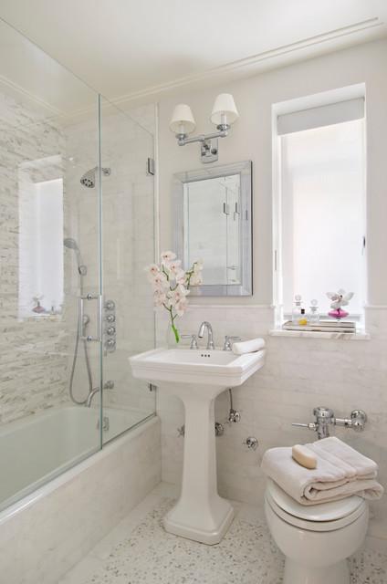 Modern Traditional - Traditional - Bathroom - Miami - by Frances - traditional bathroom ideas