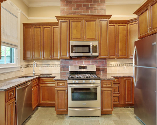 small transitional shaped kitchen design ideas remodels photos inspiration small transitional shaped kitchen remodel