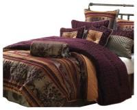 Petra 10-Piece Comforter Set - Transitional - Comforters ...