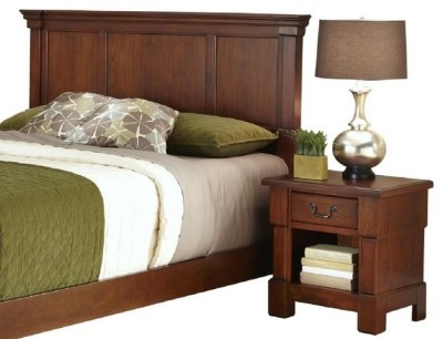 The Aspen Collection King/California King Headboard and Nightstand - Transitional - Bedroom ...