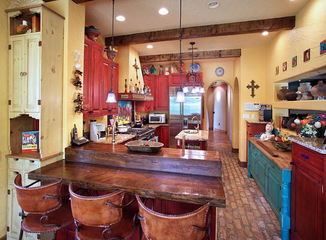 Kitchen - mexican kitchen design