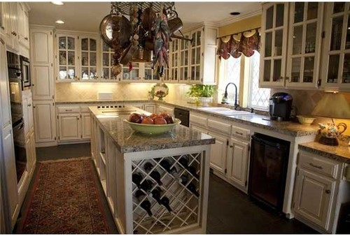 Need Idea For Distressed Kitchen Cabinets