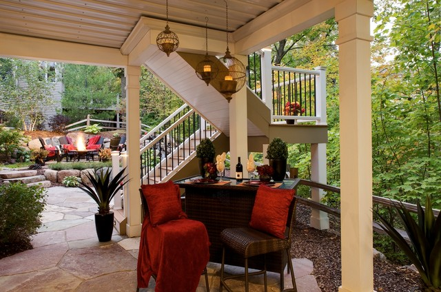 Under Deck Patio Traditional Patio Minneapolis By