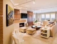 Warm Contemporary - Contemporary - Living Room ...