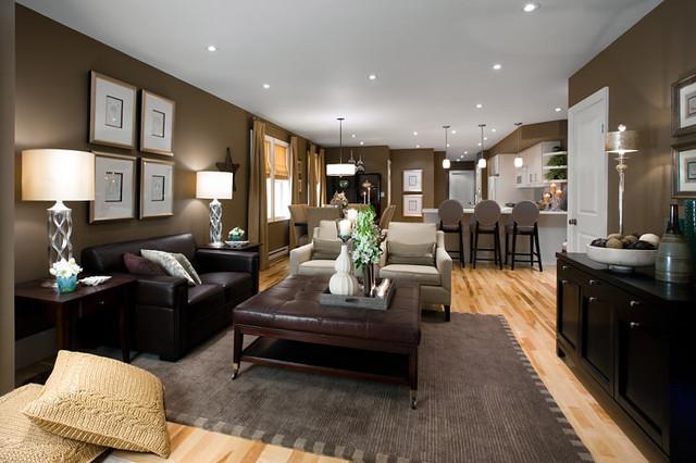 Jane Lockhart Open Concept Living Room - Modern - Living Room - open concept living room