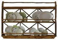 Wall Display/Plate Rack - Tropical - Display And Wall ...