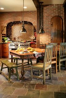 Bergen County Nj Farmhouse Kitchen