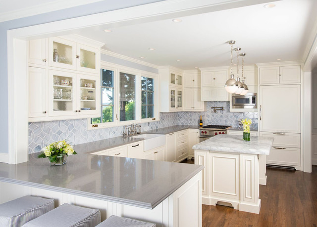 Timeless French Country Kitchen - Traditional - Kitchen - Seattle - timeless kitchen design