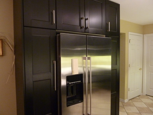 Ramsjo Kitchen Cabinets How Is The Fridge Flush With The Cabinets? Is There A