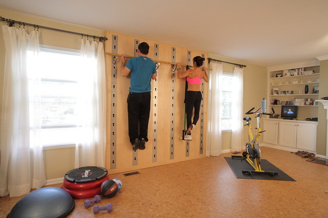 Fitnessstudio Einrichten Houzz Call: Show Us Your Home Gym Or Exercise Space