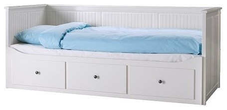 Hemnes Daybed Frame With 3 Drawers Ikea Scandinavian - Ikea Daybed