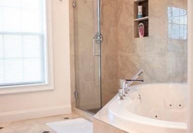 Norwalk Master Bathroom transitional bathroom