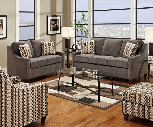 Sleeper Sofa Living Room Sets Simmons Upholstery - Anthony 4 Piece Full Sleeper Sofa Set